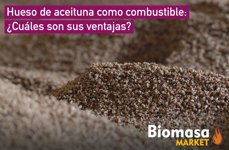Ventajas del hueso de aceituna como combustible para tu caldera